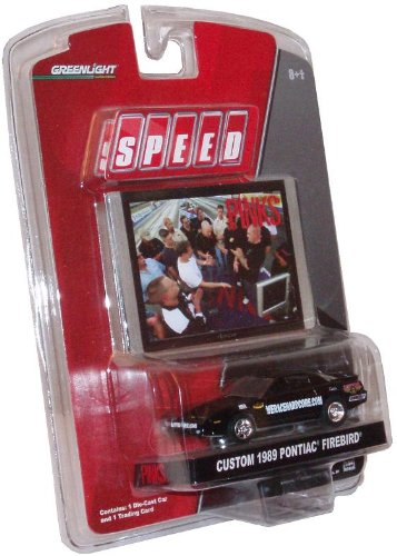 Greenlight Collectibles Speed PINKS 1:64 Scale Series 2 Race Car - Custom 1989 Pontiac Firebird Plus Bonus Trading (Custom Diecast Race Cars)