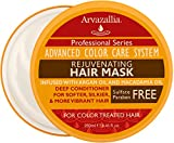 Hair Mask for Growth Rejuvenating Hair Mask and Deep Conditioner For Color Treated Hair with Argan Oil and Macadamia Oil By Arvazallia - Sulfate Free & Paraben Free
