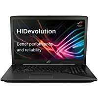 HIDevolution ASUS ROG STRIX GL703VD 17 inch Gaming Laptop | 2.8 GHz i7-7700HQ, 32GB DDR4 RAM, GTX 1050 4GB, 1TB SSHD | Authorized Performance Upgrades & Warranty