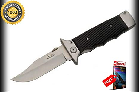 Amazon.com: Cuchillos de moon Knivel con bolsillo plegable y ...