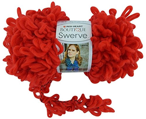 Red Heart Boutique Swerve Yarn Red 3pk (Swerve By Yarn Red Heart)