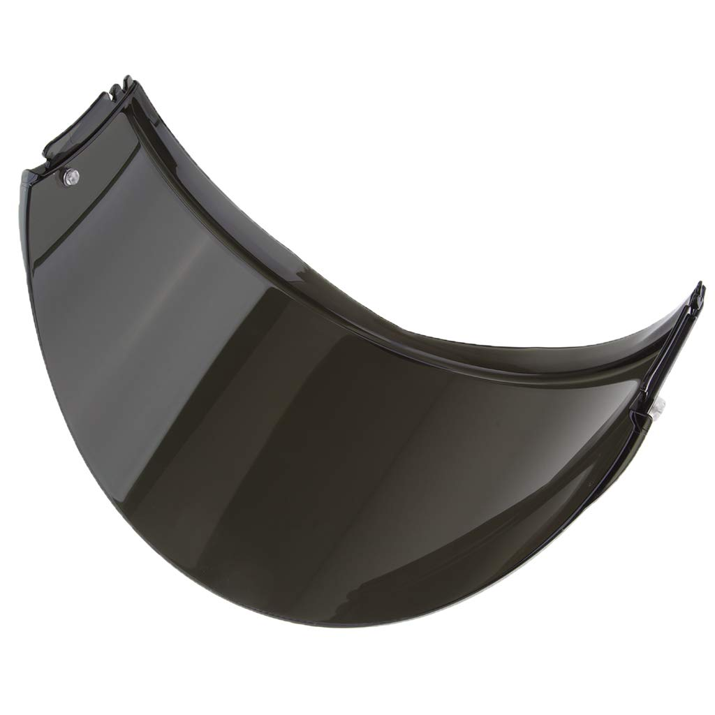 Sharplace Visor de Casco Abatible Compatible con LS2 FF399 Lente coloreada