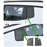 Nicebee Rear Triangle Glass Decoration Cover For Jeep Compass 2017 UP