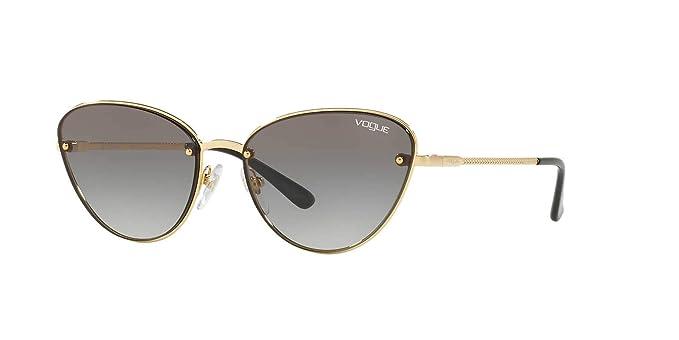 02f4c620119 VOGUE Women s 0vo4111s Cateye Sunglasses gold 57.0 mm  Vogue  Amazon ...