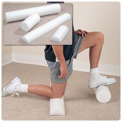 "Sammons Preston Foam Therapy Rolls - 8"" x 36"" Half-round"