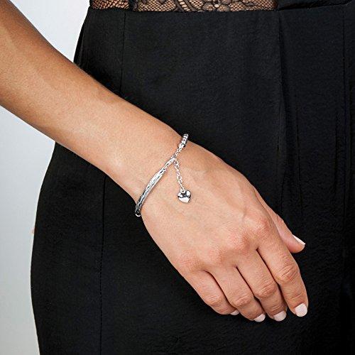 Hot Diamonds femme  Argent 925/1000  Argent|#Silver Rond   Blanc Diamant FINENECKLACEBRACELETANKLET