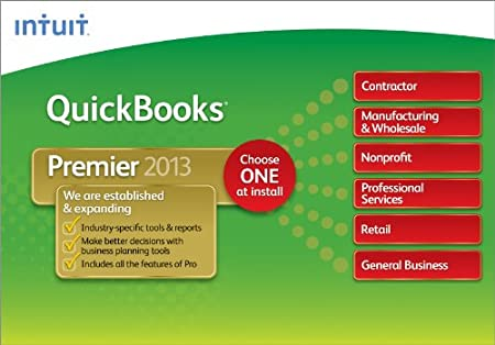 QuickBooks Premier Industry Editions 2013 [Download]