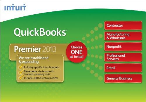 QuickBooks Premier Industry Editions 2013 [Download] [OLD VERSION] (Quickbooks Premier 2013 Software)
