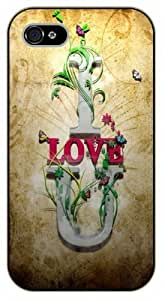For SamSung Galaxy S3 Case Cover I love you. Vintage art - black plastic case / Life quotes, inspirational and motivational / Authentic