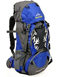 Hiking Backpack 20in Long (45L + 5L) (light blue)