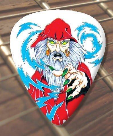 10 x Tattoo Púa Para Guitarra Evil Wizard (D92) (Schwer 1.00mm ...