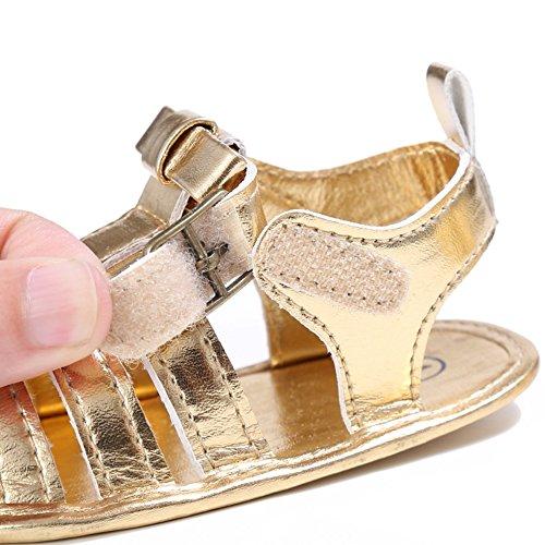 Sandalias De Bebe,BOBORA Prewalker Zapatos Primeros Pasos Para Bebe Sandalias Casuales Para Bebes oro