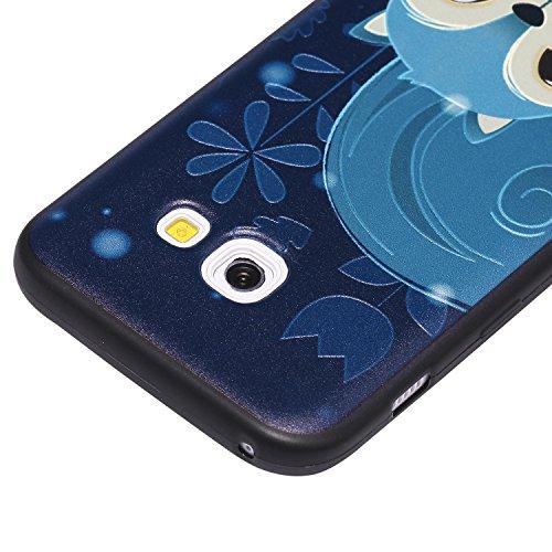 16a1f989159 Qiaogle Teléfono Caso - Funda de TPU silicona Carcasa Case Cover para Samsung  Galaxy A3 (