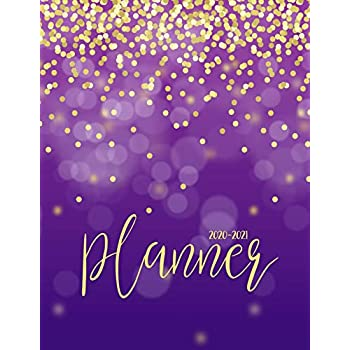 Amazon.com : Mead 2020-2021 Monthly Planner 2 Year, 8-1/2