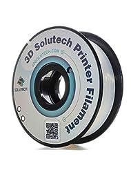 3D Solutech Natural Clear 1.75mm 3D Printer PLA Filament, Dim...