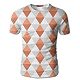 Edgar John Shady 3D Like Design Diamond Line in Vertical...