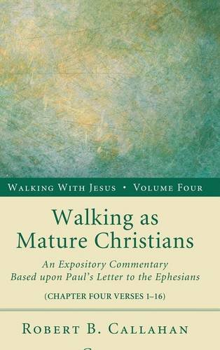 Download Walking as Mature Christians pdf epub