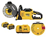 DEWALT DCS690X2 FLEXVOLT 60V MAX CORDLESS BRUSHLESS 9 IN. CUT-OFF SAW KIT
