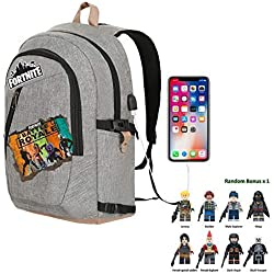 2019 Battle Royale School Bag Notebook Daily 15 inch Backpack (Game Black)
