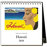 Found Image Press 2018 Easel Desk Calendar, Hawaii