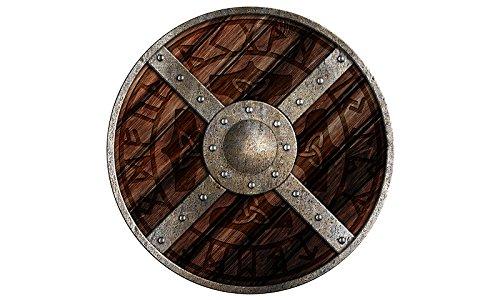 Holzspielerei 73804–3–Bouclier Rond d'Odin