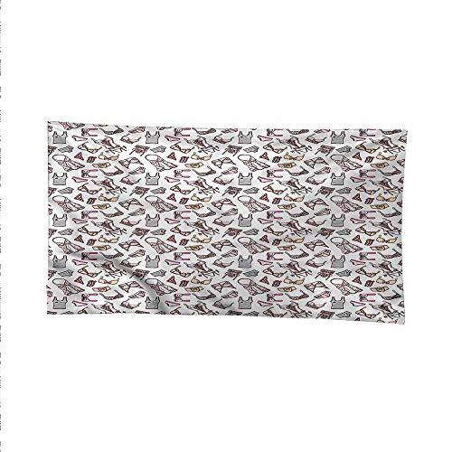 Girlsfunny tapestryquote tapestryLingerie Pieces Feminine Glam 84W x 70L Inch
