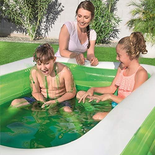 Piscina Hinchable Infantil Bestway Swim n Slime Rectangular ...