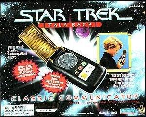 - Star Trek Talk Back Classic Communicator