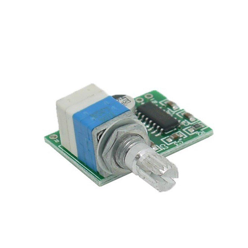 Rokoo 5V Audio Digital Amplifier Board Unterstü tzung USB Powered Zwei Kanal Stereo Verstä rker 3W + 3W / PAM8403 mit Switch Potentiometer 46094