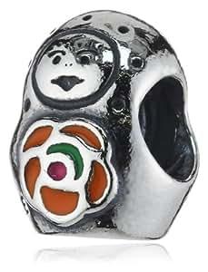 Pandora 790582ER - Abalorio de mujer de plata de ley