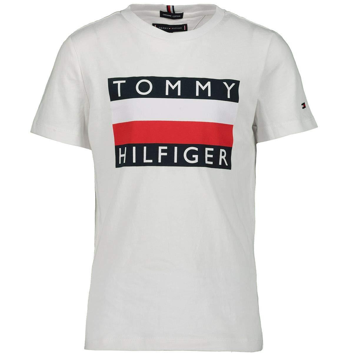 Camiseta de Manga Corta para ni/ño Tommy Hilfiger