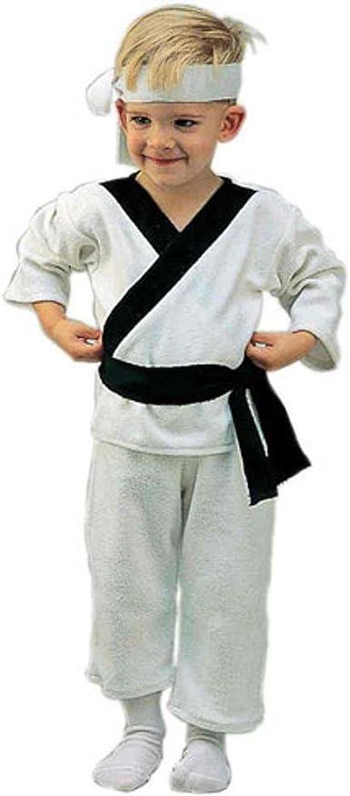 Amazon.com: Infantil del niño disfraz de Kung Fu Karate ...