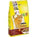 Purina Friskies Adulto Gato con Buey, Pollo y Verduras 4kg