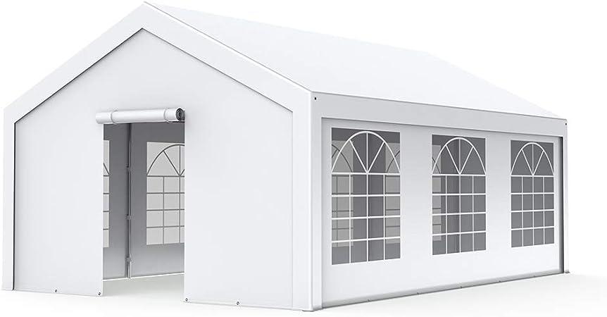 INTEROUGE pérgolas 4 x 6 m, acero y trenzado polietileno, 180 g/m², Gazebo-Carpa pérgola: Amazon.es: Hogar