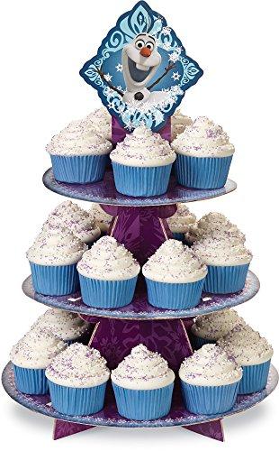 Wilton 1512-4500 Disney Frozen Cupcake Stand (Cake Disney Stand)