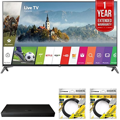 "LG 65"" Super UHD 4K HDR Smart LED TV 2017 Model  with LG 4K"