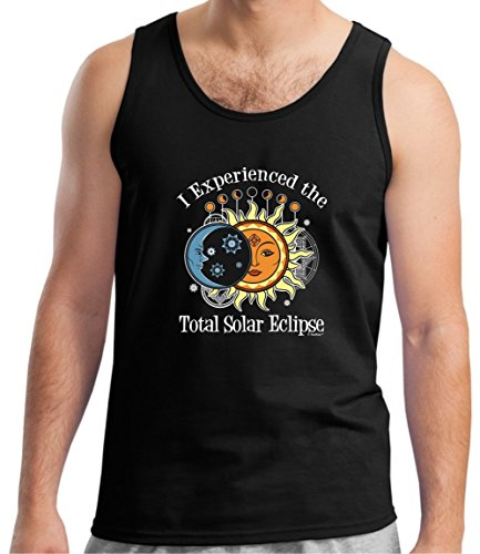 Solar Eclipse Glasses Kids I Experienced The Total Solar Eclipse 2017 Tank Top Medium Black