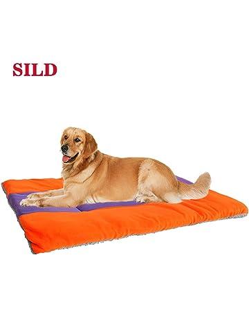 SILD Colchón para Perros Colchón para Mascotas Colchón Reversible para Perros Perros y Gatos Colchoneta Acolchada