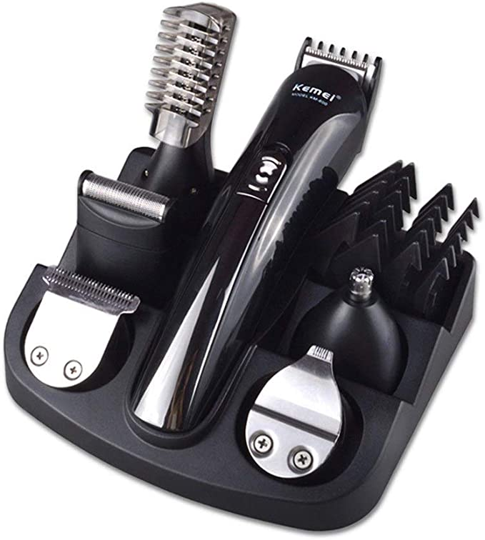 UZZHANG Máquina for cortar el cabello Barba Trimer Barba cortadora ...
