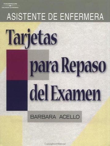 Nurse Aide Exam Review Cards: Spanish Edition (Test Preparation)
