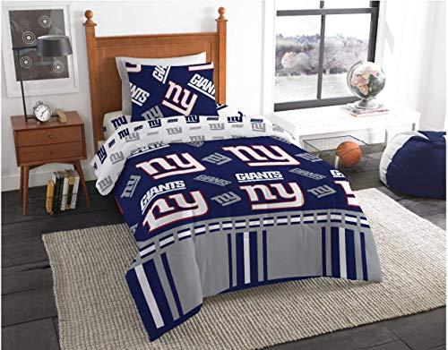 New York Giants NFL Twin Comforter & Sheets, 4 Piece NFL Bedding, New! + Homemade Wax Melts