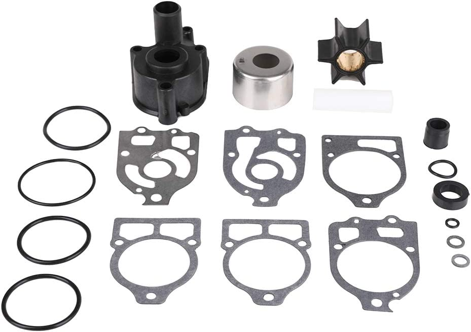 Water Pump Impeller Repair Kit for Mercury Marine Mercruiser Outboard & Alpha One Stern Drive Replace 46-96148A8, 46-96148T8, 46-96148Q8, 18-3217,18-3316