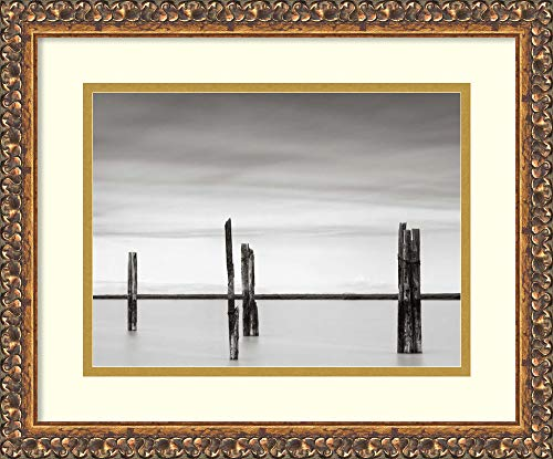 Framed Wall Art Print Cluster of Posts II by Lawrence Hislop 17.62 x -