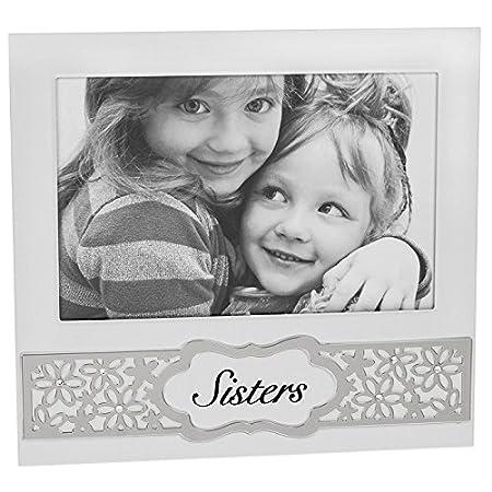 Daisy Sentiment 6x4 Sister Photo Frame: Amazon.co.uk: Kitchen & Home