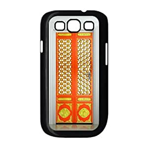 Serve Sincerely Personalized The Cute Chinese Retro Orange Door For Samsung Galaxy S3 I9300 Hard Case