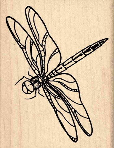 Stamps by Impression Dragonfly Rubber Stamp