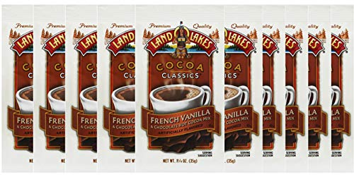 (Land O' Lakes Hot Cocoa Mix, French Vanilla, 1.25 oz (35g), 10 Packets)