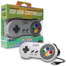 "CirKa ""S91"" Premium SNES USB Controller for PC/ Mac (Super Famicom)"