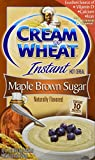 Cream of Wheat, Maple Brown Sugar Instant Hot Cereal, Contains 1 Box of 10 Packets