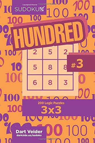 Download Sudoku Hundred - 200 Logic Puzzles 3x3 (Volume 3) PDF